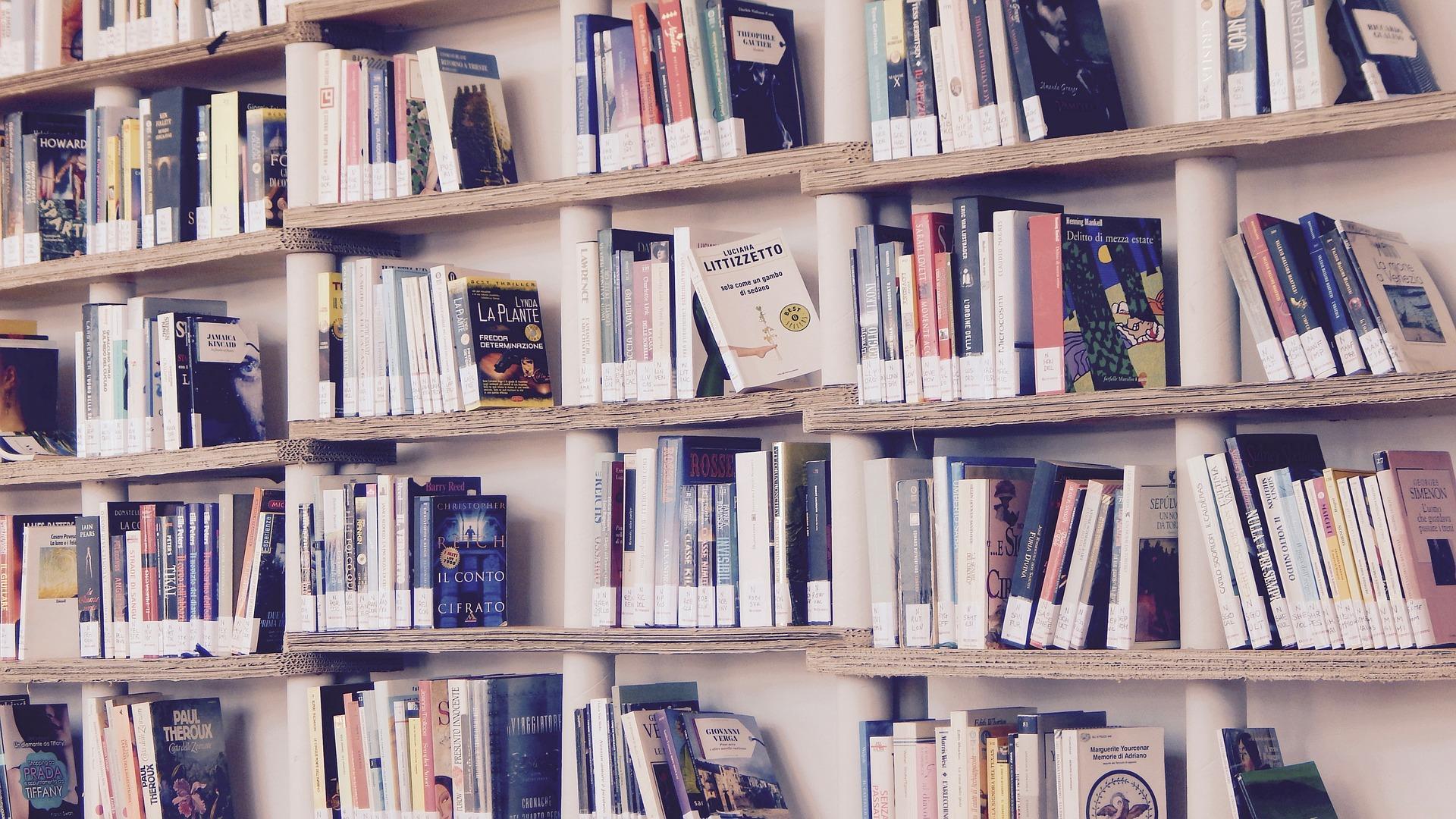 Headerbild_Bücherregal_Pixabay von Marisa Sias